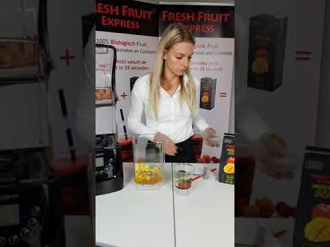 Fresh Fruit Express Bereiding Smoothie Blender met geluidskap Nederlands