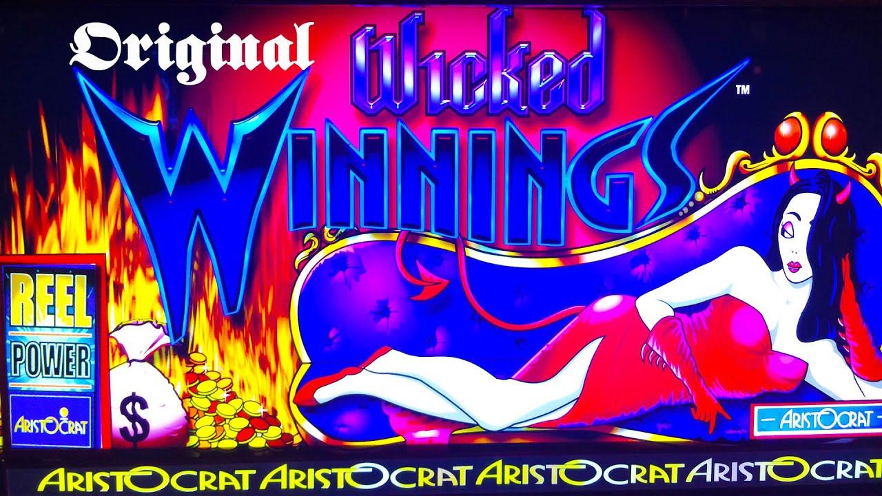 Wicked Winnings Slot Machine The Original Youtube