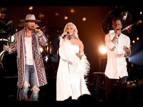 Meant To Be - Bebe Rexha ft. Florida Georgia Line  (American Music Awards 2017)