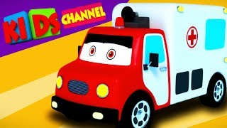Download Car Cartoons Videos & Vehicles for Kids | Kids Stories - Kids Channel Mp3 and Videos