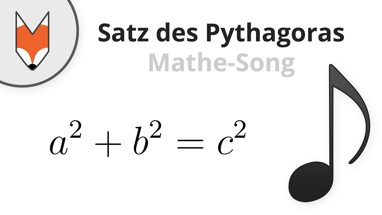 satz des pythagoras mathe song youtube. Black Bedroom Furniture Sets. Home Design Ideas