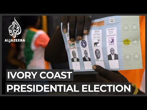 Ivory Coast: President Ouattara calls for peace, unity during election