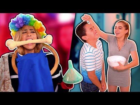 Pausa Challenge | YouTubers VS sus hermanitos