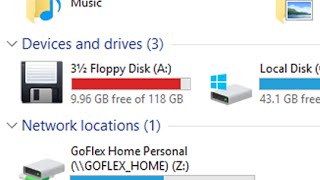 Ever seen a Floppy Disk with 118GB or more storage capacity?