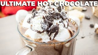 ULTIMATE Hot Chocolate | Made with REAL chocolate 🍫 The Starving Chef