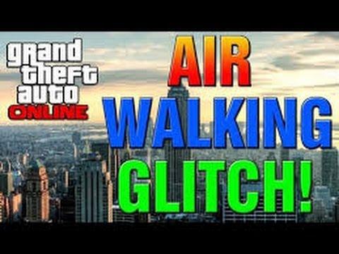 GTA 5 WALK ON AIR GLITCH!!!(Troll 10%)