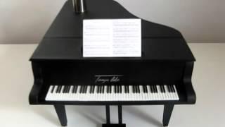 Миниатюра. РОЯЛЬ ИЗ КАРТОНА своими руками. DIY Miniature Piano Tutorial