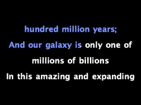 The Galaxy Song Karaoke
