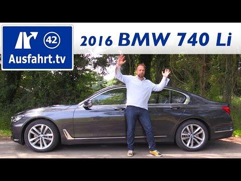 Bild: BMW 740Li 2016 - ein Fahrbericht - durchaus auch als Zugfahrzeug begabt!