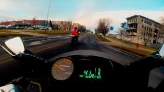 Hyosung GT125R Onboard - Acceleration -  IXIL Exhaust - GoPro 3+ Silver [HD]