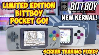 NEW Limited Edition BittBoy Pocket Go! Screen Tearing Is Fixed! Or Is It!?