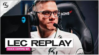 REPLAY: SK vs OG, S04 & MAD Voice Comms | SK LEC SUMMER W1