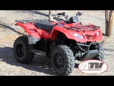 atv television 2013 suzuki king quad 400asi test youtube rh youtube com