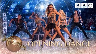 The Final opens with a spectacular group dance! - BBC Strictly 2018