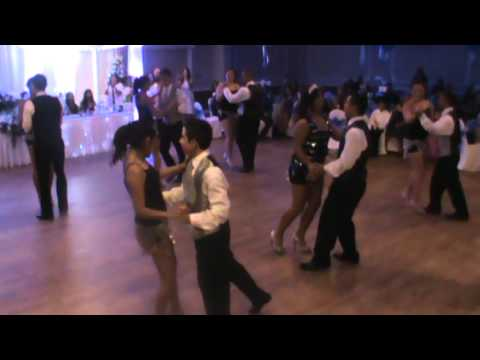 Nicolette Brown quinceanera surprise dance #1