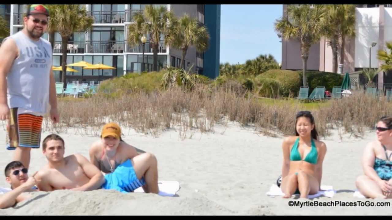 myrtle beach spring break nude