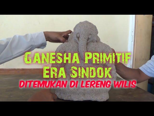 Ditemukan Arca Ganesha Primitif Era Pu Sindok di Lereng Wilis/Nganjuk/#acra_ganesha_Sindok