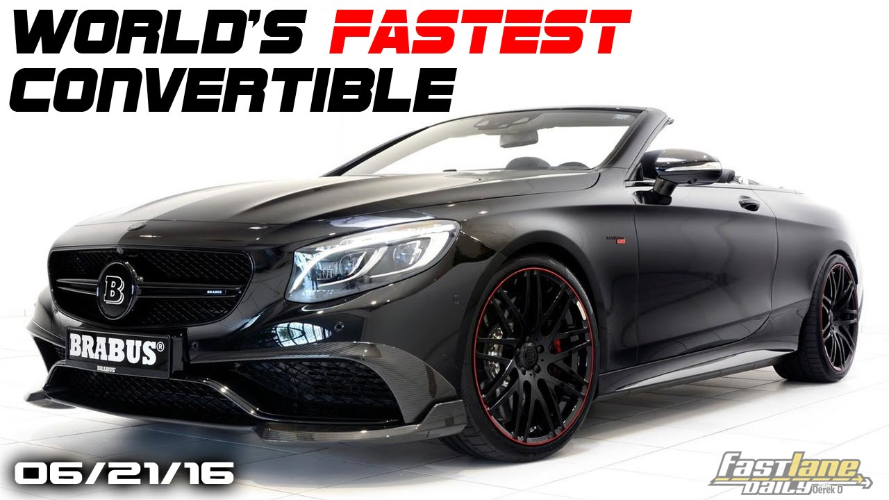 World S Fastest 4 Seat Convertible Bentley Barnato Wireless Car Charging Fast Lane Daily