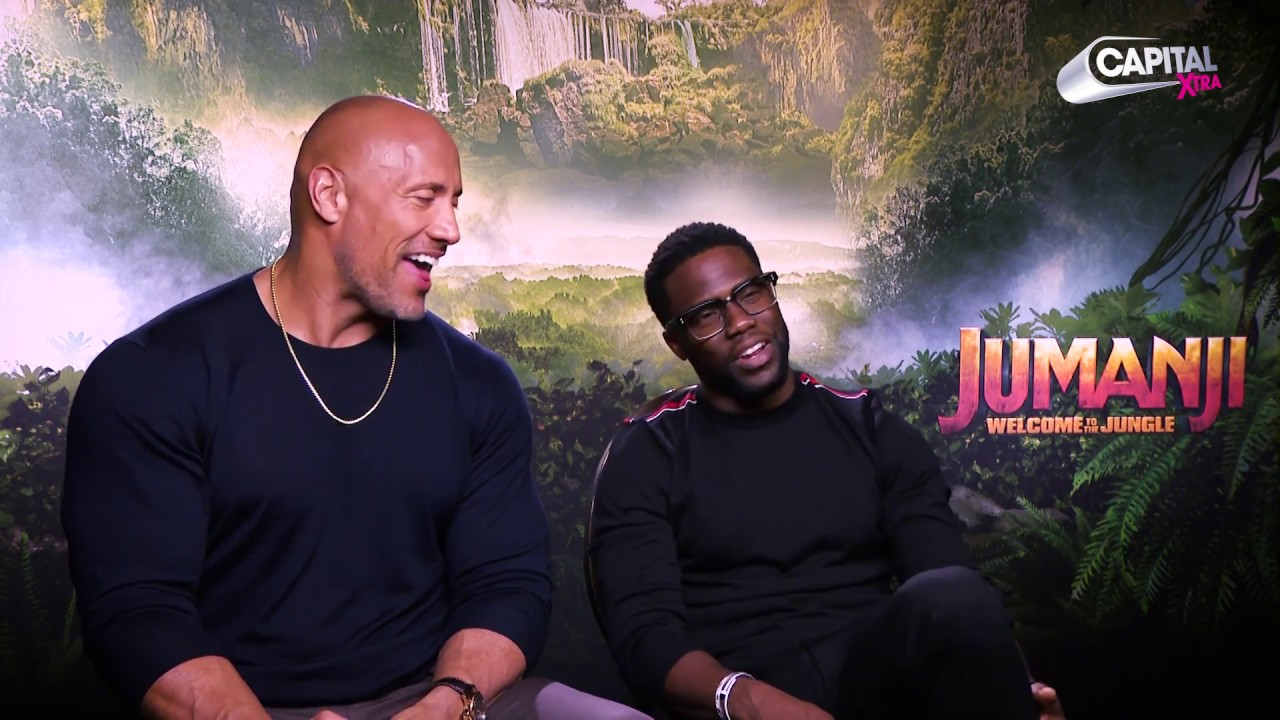 Kevin Hart & The Rock Talk New Movie 'Jumanji: Welcome To The Jungle' With Yinka