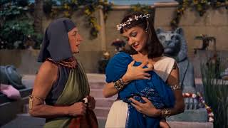 Bithiah finds Moses - quotThe Ten Commandmentsquot - Charlton Heston