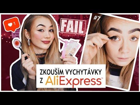 Barvu měnící make-up?! || VYCHYTÁVKY Z ALIEXPRESS