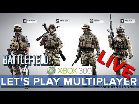 Battlefield 4 - Let's Play Multiplayer LIVE (Xbox 360) - Eurogamer