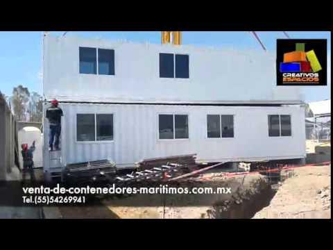 Venta de contenedores maritimos usados youtube - Casa contenedores maritimos ...