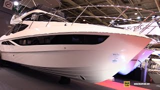 2016 Galeon 380 Fly Motor Yacht - Walkaround - 2015 Salon Nautique de Paris