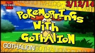 firecrotch doin work pokemorning with gothalion 3 12 14 pokemon x y rebroadcast