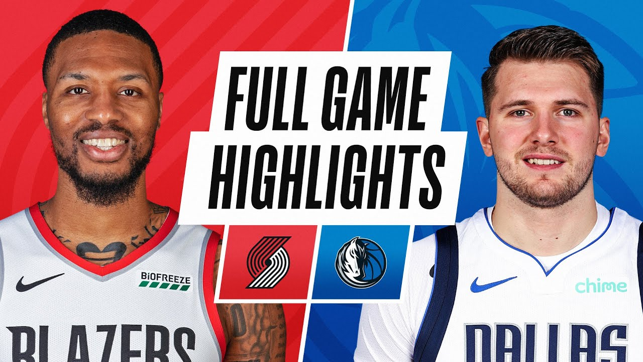 TRAIL BLAZERS at MAVERICKS | FULL GAME HIGHLIGHTS | February 14, 2021
