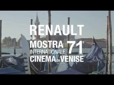 Renault at the Venice International Film Festival // Renault à la Mostra de Venise 2014