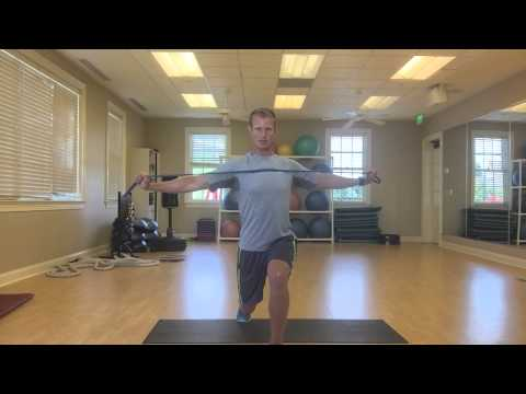 golf workout for Stability and mobility work in upper/lower body