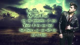 Adam Lambert - Another Lonely Night (lyrics)