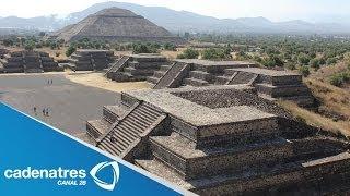 Pirámides de Teotihuacán un bello lugar para conocer del Edomex / De mochilazo