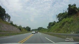Tài xế cứng dằn mặt chim mồi trên cao tốc Nội Bài - Lào Cai