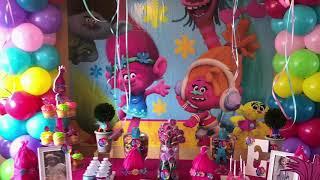 (DIY) trolls Birthday Party
