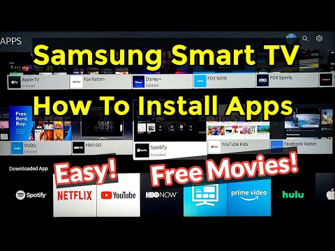 how-to-easily-install-download-apps-on-samsung-ru7100-smart-tv-4k-in-2020!-free-movies-&-tv-shows!