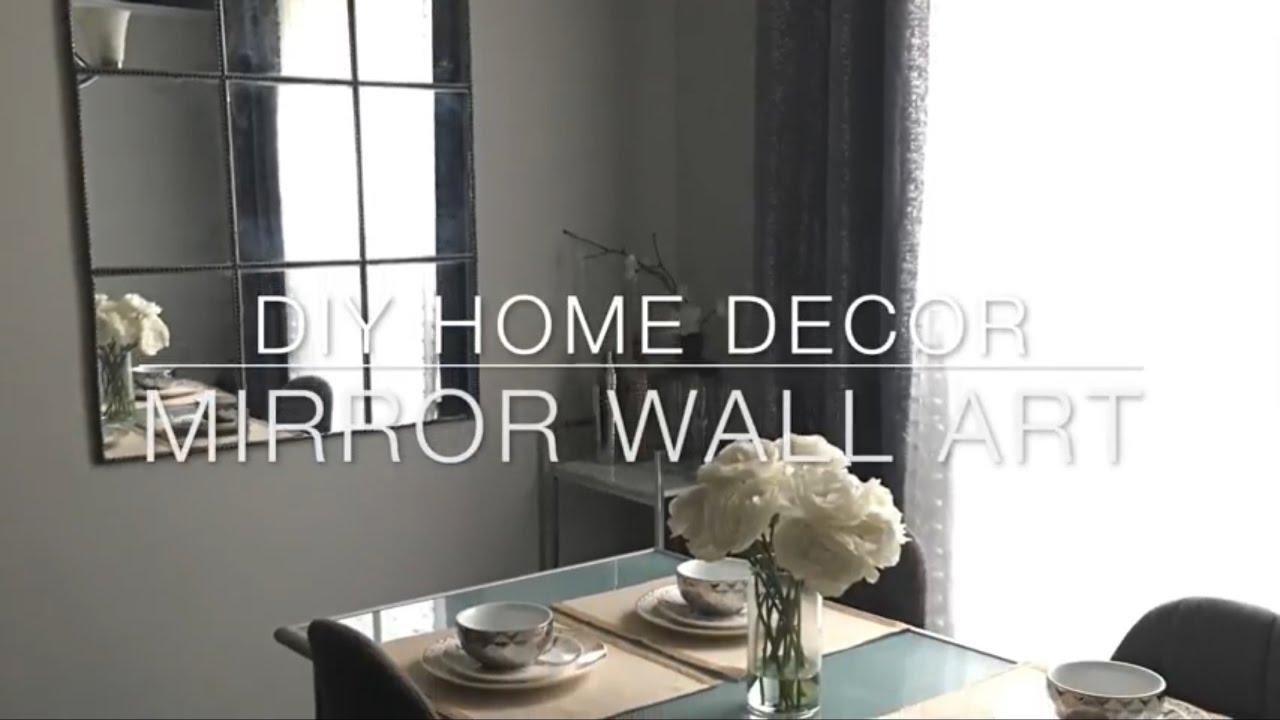 Home Diy Decor Dollar Tree Mirror Under 20 Youtube