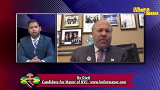West Indian Today   Interview with candidate for Mayor Bo Dietl 2