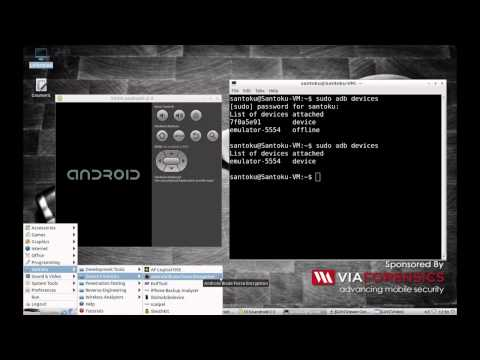 How to: use free open source Santoku Linux to complete Android logical forensics