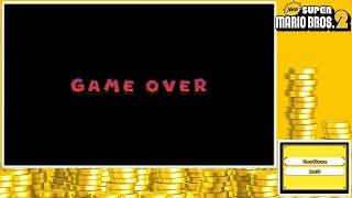 New Super Mario Bros. 2- The Elusive Game Over Screen