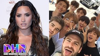 Demi Lovato CAUGHT With New Girlfriend - BTS & The Chainsmokers TEASE New Song (DHR)