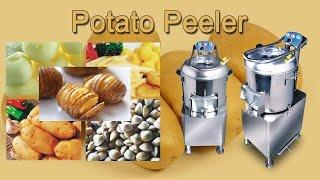 Potato Peeler   Commercial Used Potato Peeling Machine   Electric Industrial Potato Peeling Machine