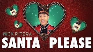 Santa Please Lyric Video Nick Pitera Original