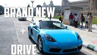 Brand New Porsche Boxster 718 | Walk around & Drive | #88