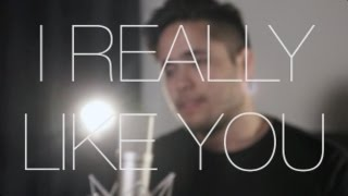 I Really Like You - Carly Rae Jepsen (Cover by Travis Atreo)