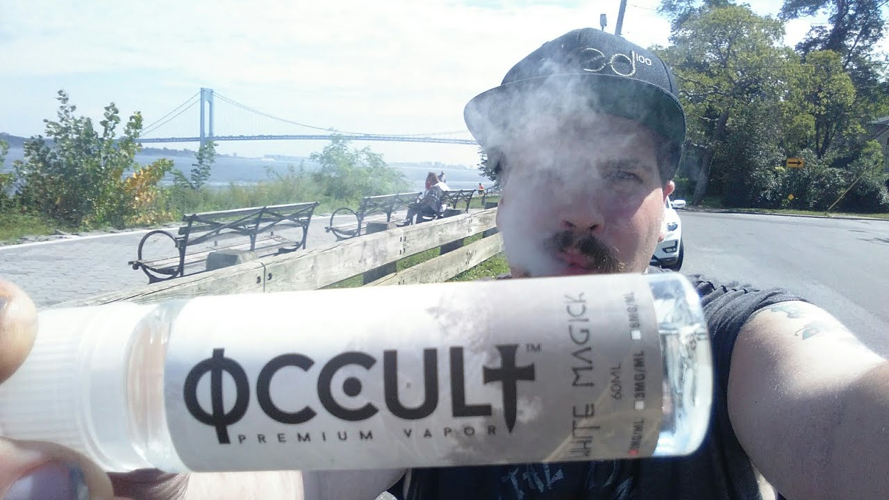 White Magick by Occult ( All Day Vape A.D.V. ) Vape Review