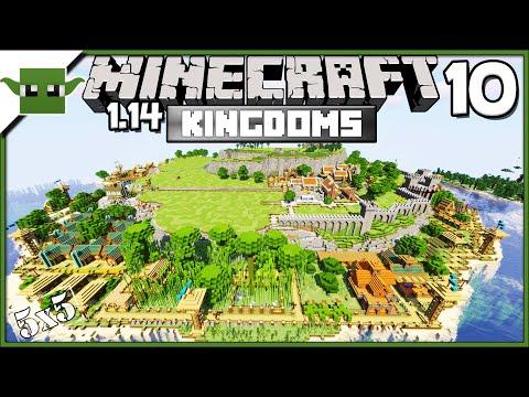 minecraft-1.14-let's-build-a-medieval-kingdom-s2e10---clay-farm-+-blacksmith