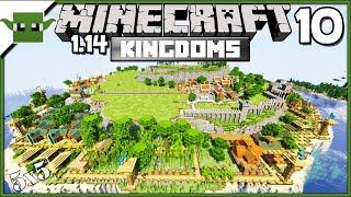 Minecraft 1.14 Let's Build a Medieval Kingdom S2E10 - Clay Farm + Blacksmith