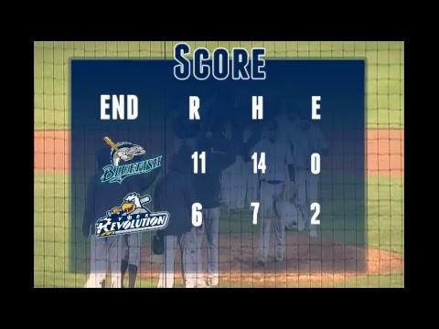 York Revolution Vs. Bridgeport Blue Fish 5/12/17 Game 2